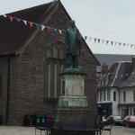 Duke of Wellington statue opposite hotel