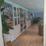 kleine Bücherei/Kaminzimmer zum entspannen