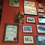 Informationen an der Wand