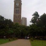 La torre del reloj, el parque...la Bombay colonial