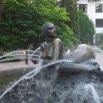 Brunnen im Hotelpark