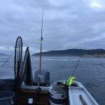 Fun morning of fishing in July!!