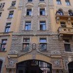 Hotel Neiburgs und seine fantastische Fassade.