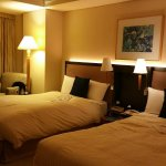 Large size twin room good for the first peaceful night rest after long flight.