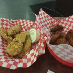 $8 for a six piece chicken wings.  No help in fun center - couldn't redeem tickets. Only reason