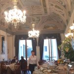 Breakfast room . A pleasure to eat in ....