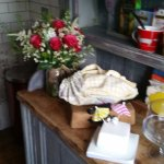 Beautiful Kitchen In Cranny with Fresh Bread