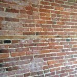 Brick wall inside room