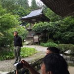 Uncannily Temple has a beautiful garden and temple. Bashō stayed here for 13 days during his tri