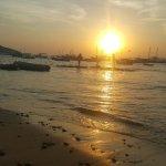 En buzios puesta del sol