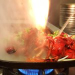 Chicken Tikka & Tandoori Chicken Sizzler