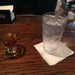 Irish whiskey in the oldest bar in Massachusetts!