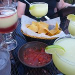 Frozen margaritas are good. Stick with original lime.