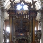 Main decorative altar of Igreja da Sao Vicente de Fora