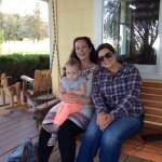 My three girls at Long Hollow Ranch