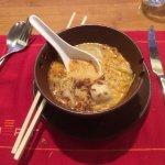 Seafood Laksa dish