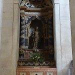 Igreja da Sao Vicente de Fora - statue of saint