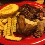 Ribs and pulled pork