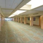 Large Convention center with many rooms