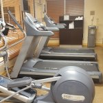 Fitness center has 2 treadmills and one elliptical - so plan accordingly.