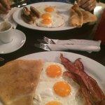 big breakfast! Marvelous....