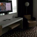 Le bureau et le fauteuil de relaxation