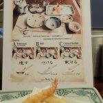 How to eat tempura. That shrimp head was crazy good.