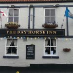Front view of The Bay Horse Inn.