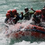 The great rafting adventure in Bovec