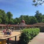 Playgrounds around the museum