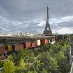 Vue extérieure / Outside © musée du quai Branly - Jacques Chirac, photo Roland Halbe