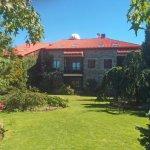 Jardines del hotel y cúpula del Observatorio