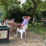 Tea room on the danal