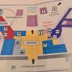 Plan de l'hôtel New York