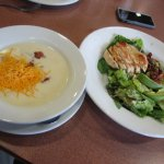 Denny's - soup and salad