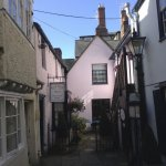 Here is Beth Place, in an alley just off Holywell Street in Oxford.