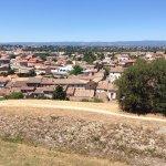 Vue sur Carcassonne depuis le château