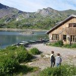 Endroit magique au lac d Allos
