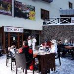 Ski bar pri stanici lanovky