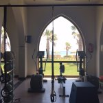 view from the gym