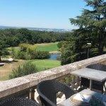 Un terrasse avec des vues magnifiques