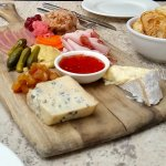 The spectacular charcuterie board