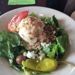 Greek side salad for lunch!