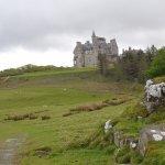 Glengorm Castle from Standing Stones trail