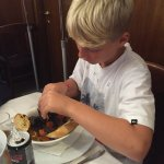 Great experience with professional and friendly staff and mussels my 11 year old loved