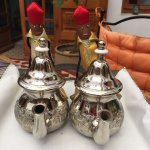 Loved the teapot holders. Great mint tea in the afternoon.