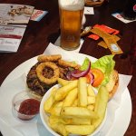 Burger with Pulled Prok