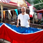 Chef Baptist Knaven celebrates Bastille Day 2016