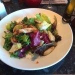 The minimalistic chicken mojito salad .