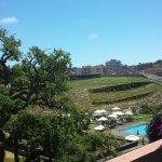 Las vistas de LLoret de Mar desde el hotel es enorme.